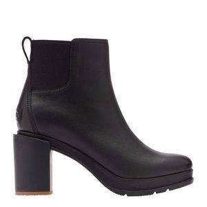 New $200 New Sorel Black Blake Chelsea Boot 10